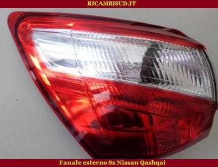 Fanale Sinistro Esterno Nissan Qashqai Ricambisud